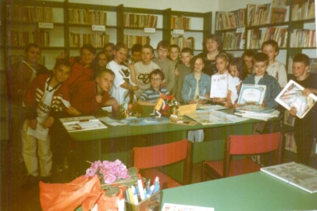 Lekcja biblioteczna (czerwiec 2004 r.)