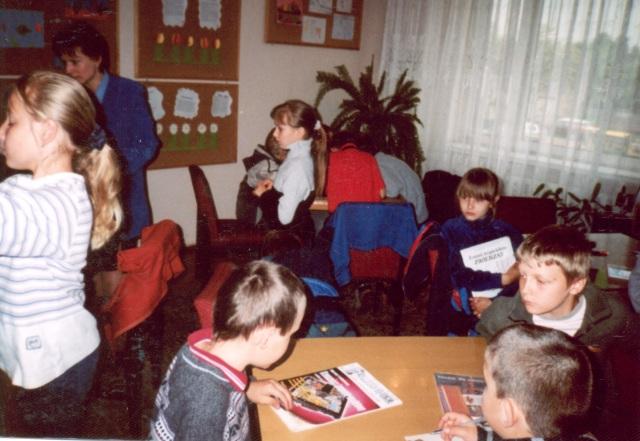 Lekcja biblioteczna (maj 2003 r.)