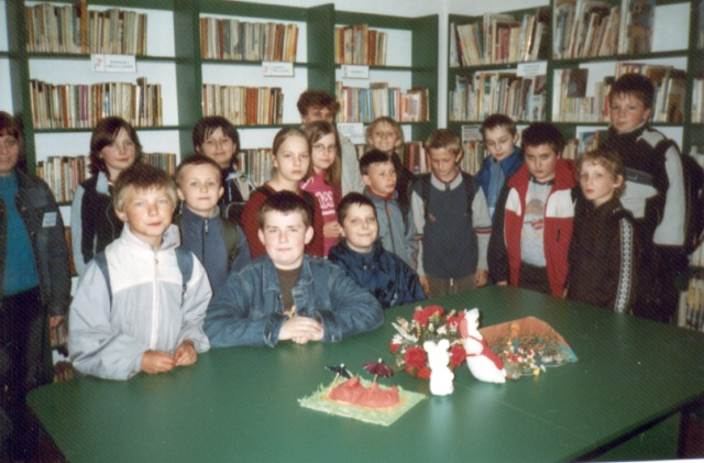 Lekcja biblioteczna (maj 2005 r.)