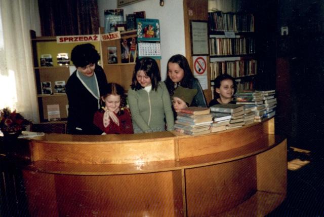 Lekcja biblioteczna (marzec 2003 r.)