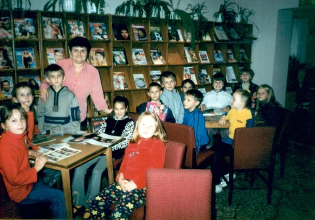 Lekcja biblioteczna (październik 2002 r.)