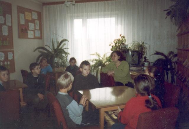 Lekcja biblioteczna (październik 2003 r.)