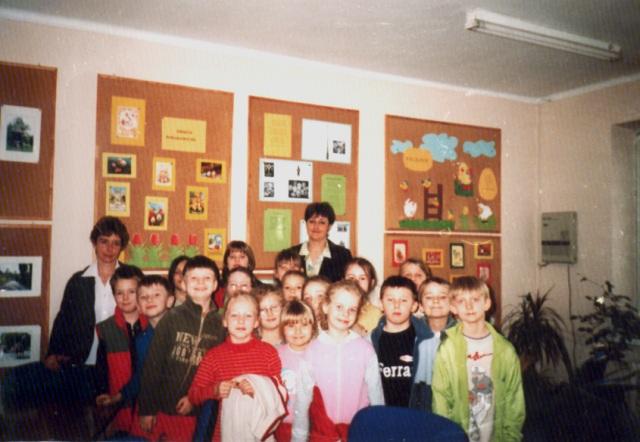 Lekcja biblioteczna (kwiecień 2006 r.)