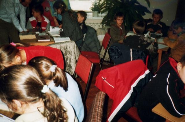 Lekcja biblioteczna (listopad 2005 r.)