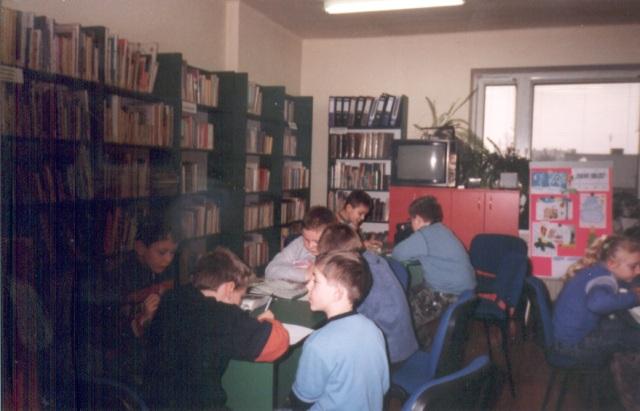 Lekcja biblioteczna (luty 2007 r.)