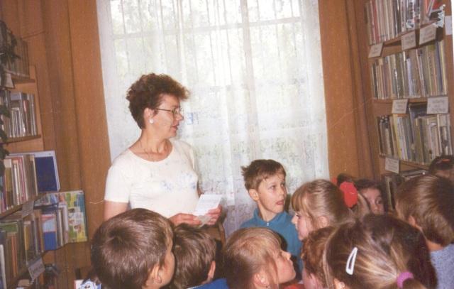 Lekcja biblioteczna (maj 1998 r.)
