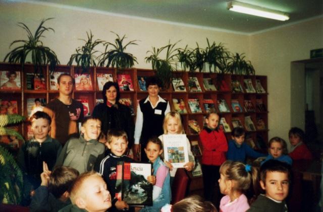 Lekcja biblioteczna (październik 2005 r.)
