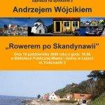 rowerem_po_Skandynawii-plakat