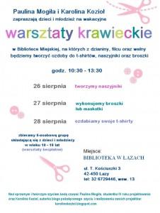 WARSZTATY_KRAWIECKIE