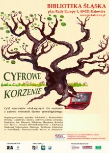 Cyfrowe korzenie plakat