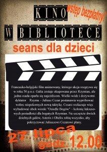 kino dla dzieci 27.07.2015