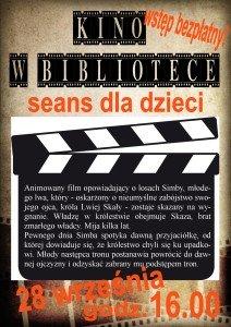 kino dla dzieci 28.09.2015
