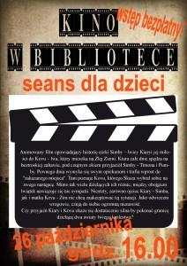Kopia kino dla dzieci 26.10.2015