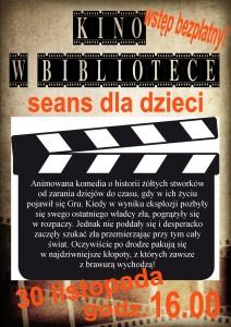 Kopia kino dla dzieci 30.11.2015