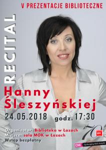 Recital Hanny Śleszyńskiej (canva) Welcome