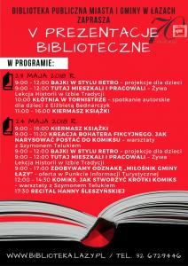 Prezentacje biblioteczne (canva obraz pixabay)