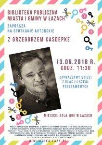 Spotkanie z G. Kasdepke (canva) NA STR