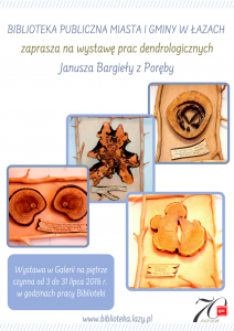 wystawa prac dendrologicznych Janusza Bargieły Dear Carina Rowell,