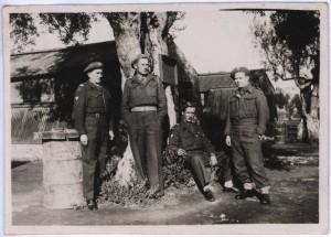 Kurs saperski 5.04.1945 2 Dyw. Korpusu Polski