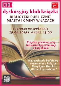 Dyskusyjny klub książki sierpien
