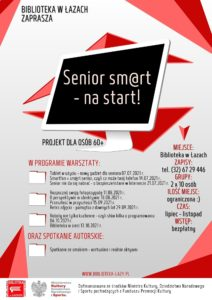 Plakat projektu Senior sm@rt