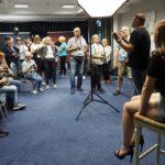 Fotografia studyjna - ćwiczenia uczestników