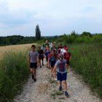 Jurajscy odkrywcy - uczestnicy na trasie do kamieniołomu