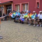 Konkurencja 3 - prowadząca objaśnia zasady zabawy uczestnikom