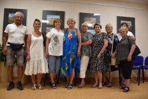 Uczestnicy spotkania z Lidią Białas