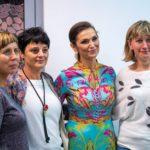 Olga Bończyk i uczestnicy koncertu