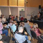 Publiczność spotkania Dwa bieguny z Jaśkiem Melą