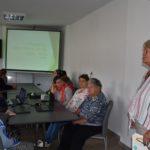 Lidia Białas zapowiada wykład Rajskie wyspy